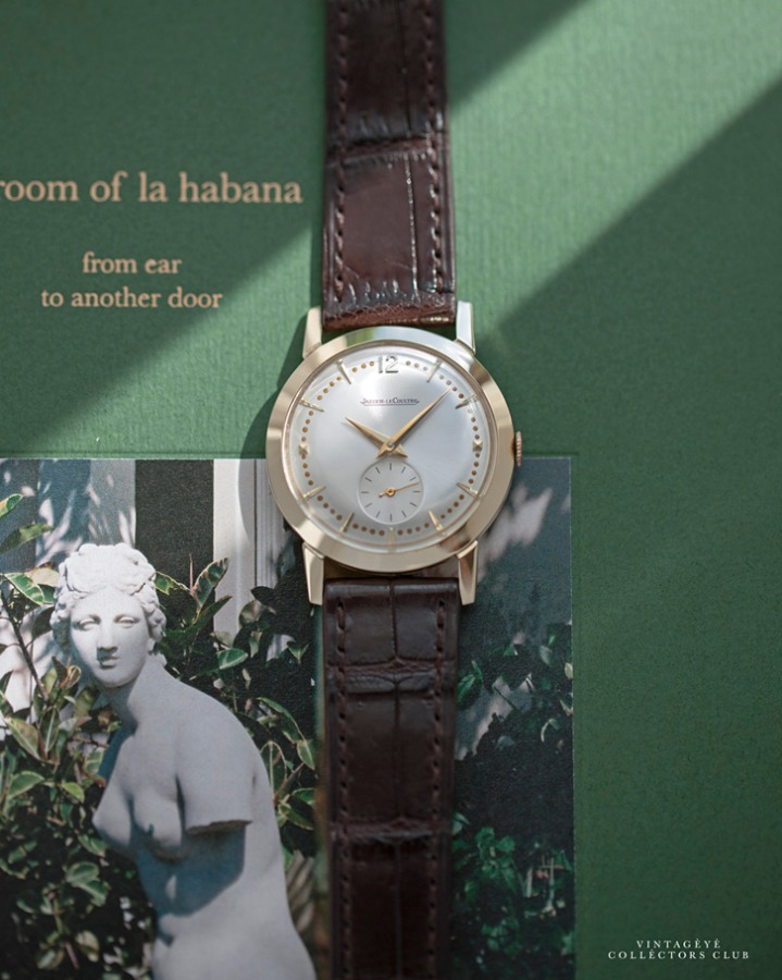 JAEGER-LECOULTRE@1950s Dress Watch Sub-Second M4789