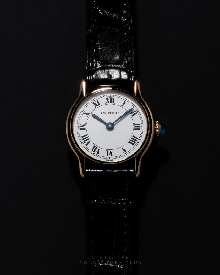 CARTIER@1980s Classic Round 022