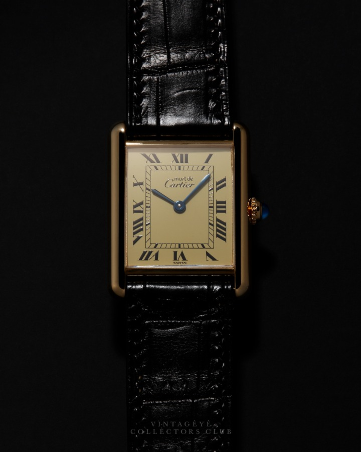 CARTIER@1990s Must Tank Large Q 043