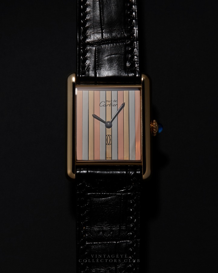 CARTIER@1980s Must Tank Trinity Large 034