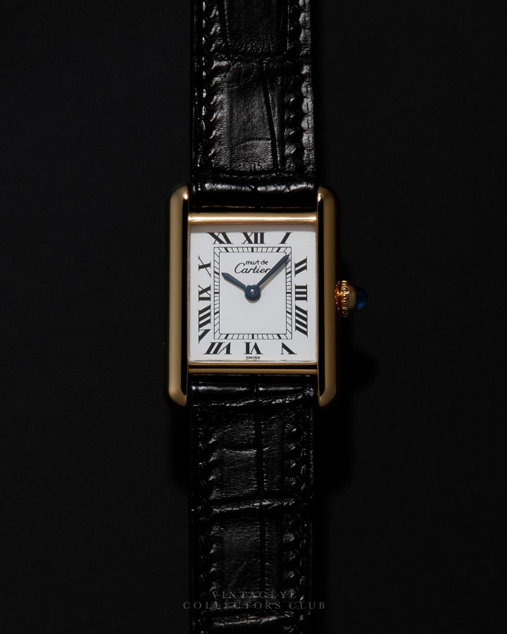 CARTIER@1980s Must Tank Small Q 009