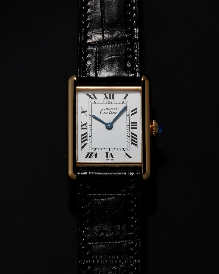 CARTIER@1980s Must Tank Large Q 010