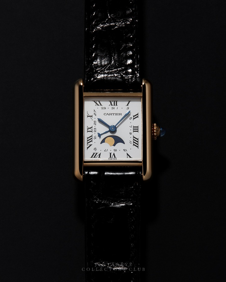 CARTIER@1990s Tank Louis Moonphase 001